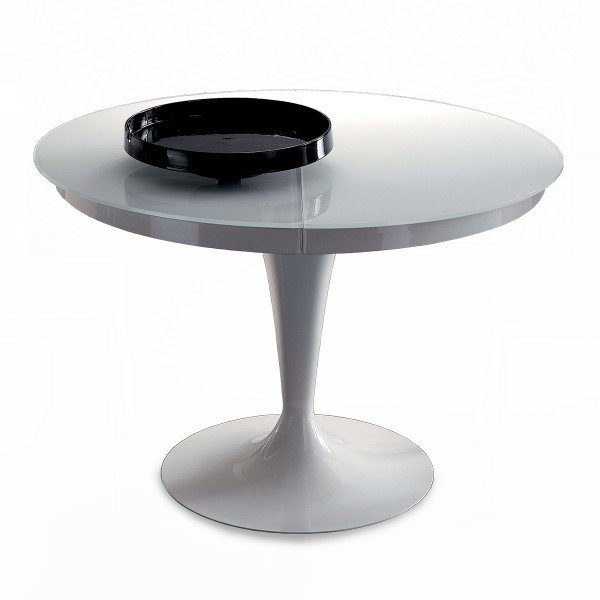 Table Carrée En Verre Extensible: Table Ronde Extensible Eclipse Verre