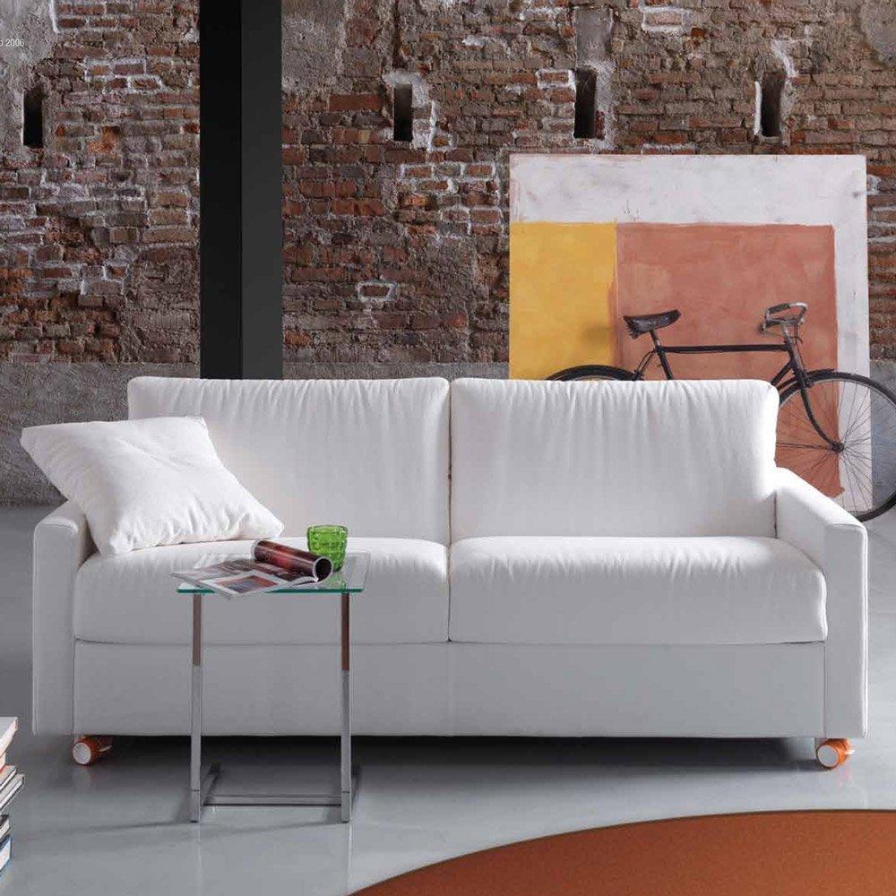 Canape convertible montparnasse meubles et atmosphere for Canapé convertible couchage quotidien avec tapis d entrée original