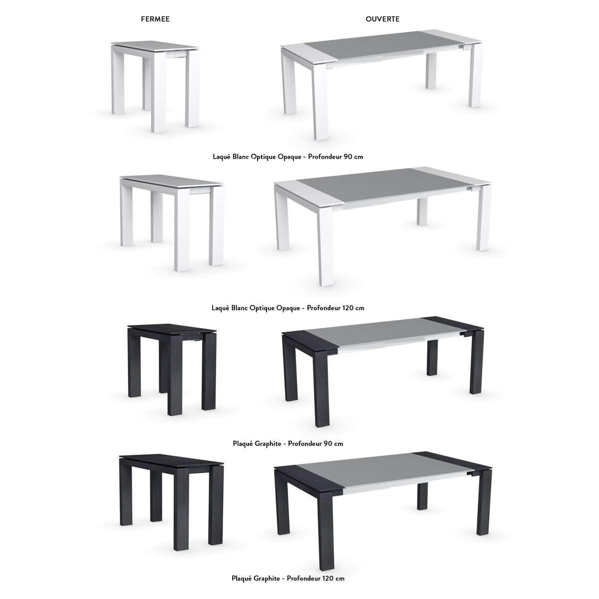 Luxe table ronde salle a manger extensible table de for Table salle a manger console extensible