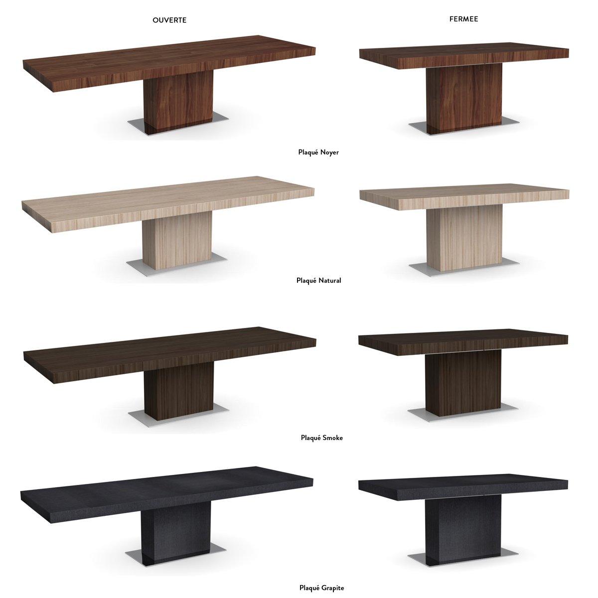 table extensible park meubles et atmosph re. Black Bedroom Furniture Sets. Home Design Ideas