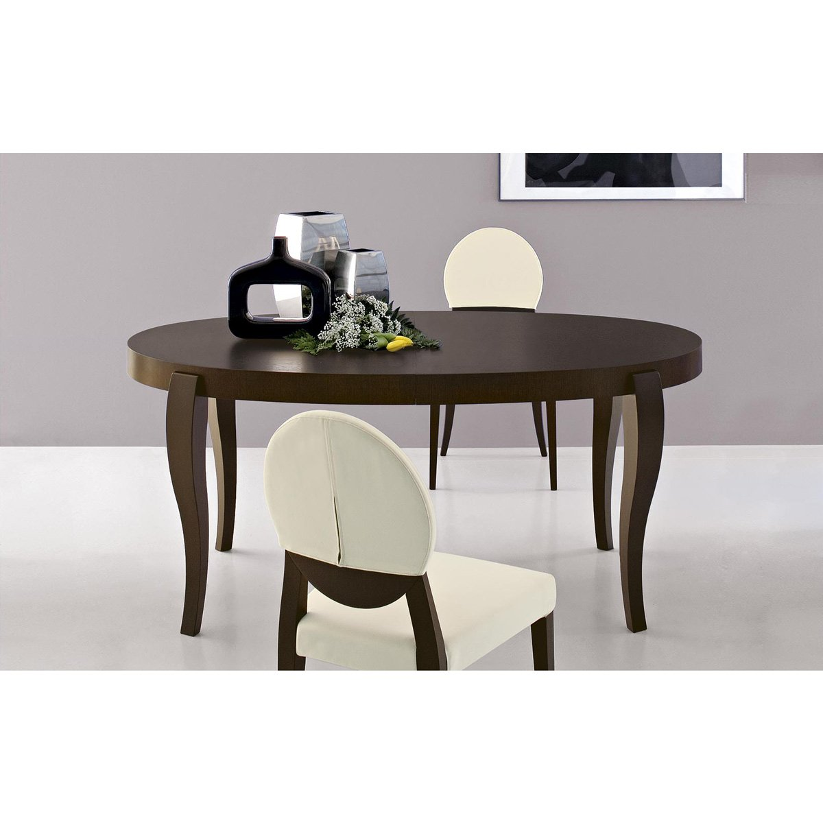 table de repas extensible regency meubles et atmosph re. Black Bedroom Furniture Sets. Home Design Ideas