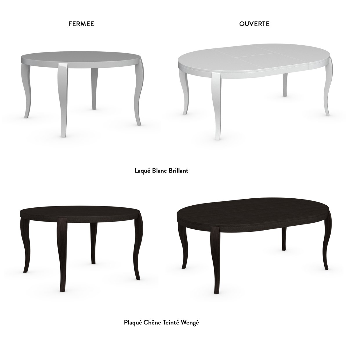 Table repas ronde extensible maison design for Table ronde design extensible