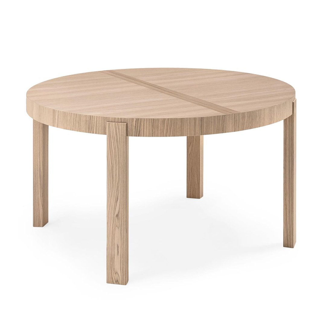 Table de repas ronde extensible atelier meubles et for Table ronde extensible design