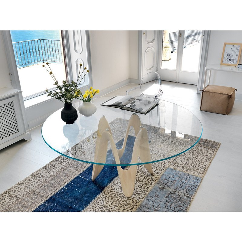Table de repas ronde voltige meubles et atmosph re for Table repas ronde