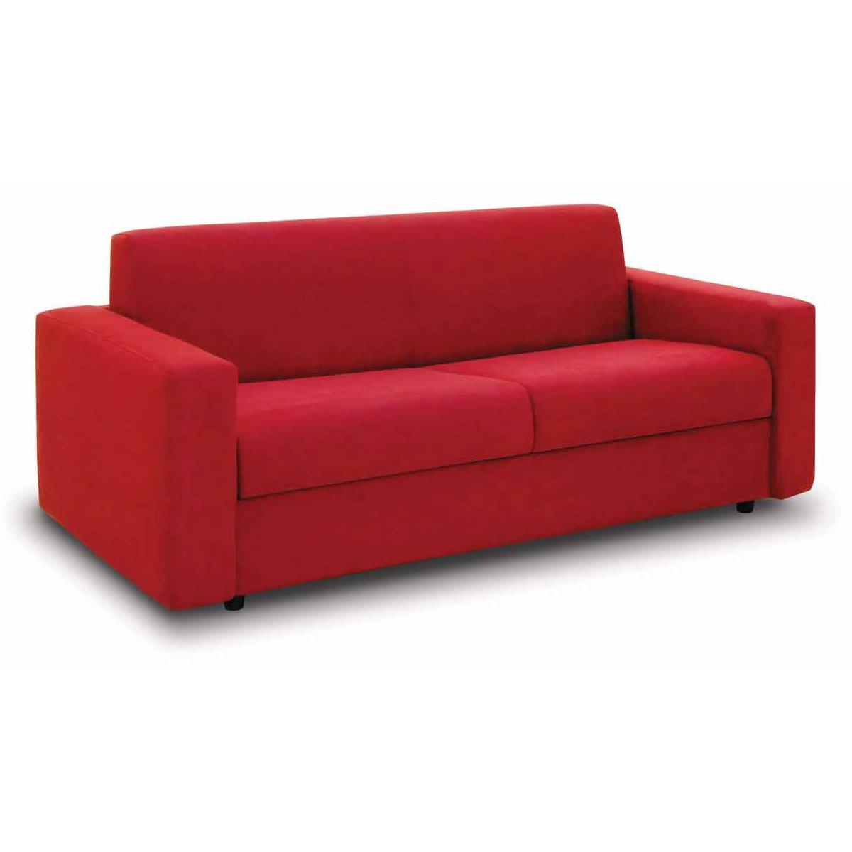 Canape convertible republique meubles et atmosphere for Canapé convertible couchage quotidien avec tapis d entrée original