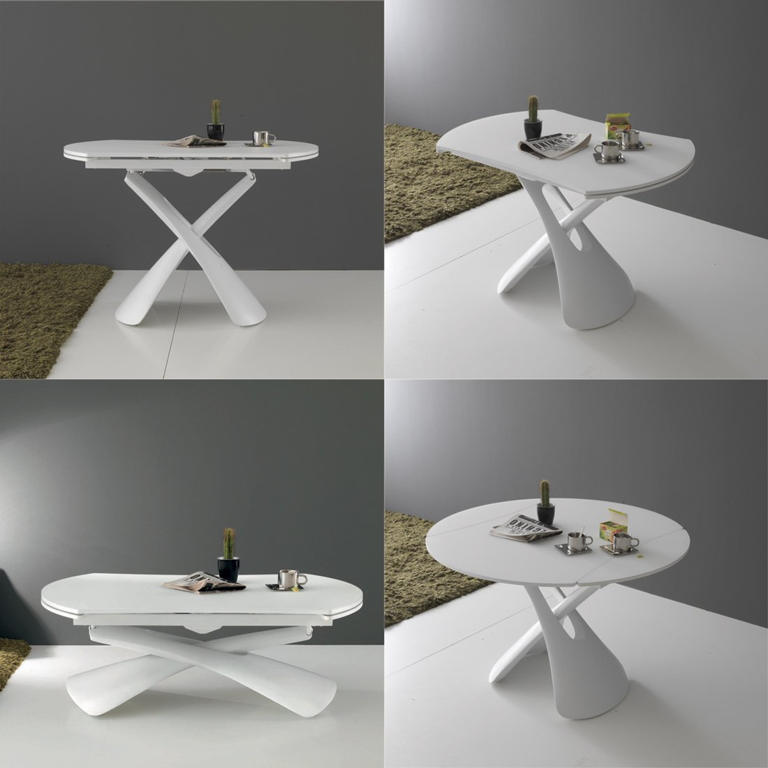 table basse relevable ronde