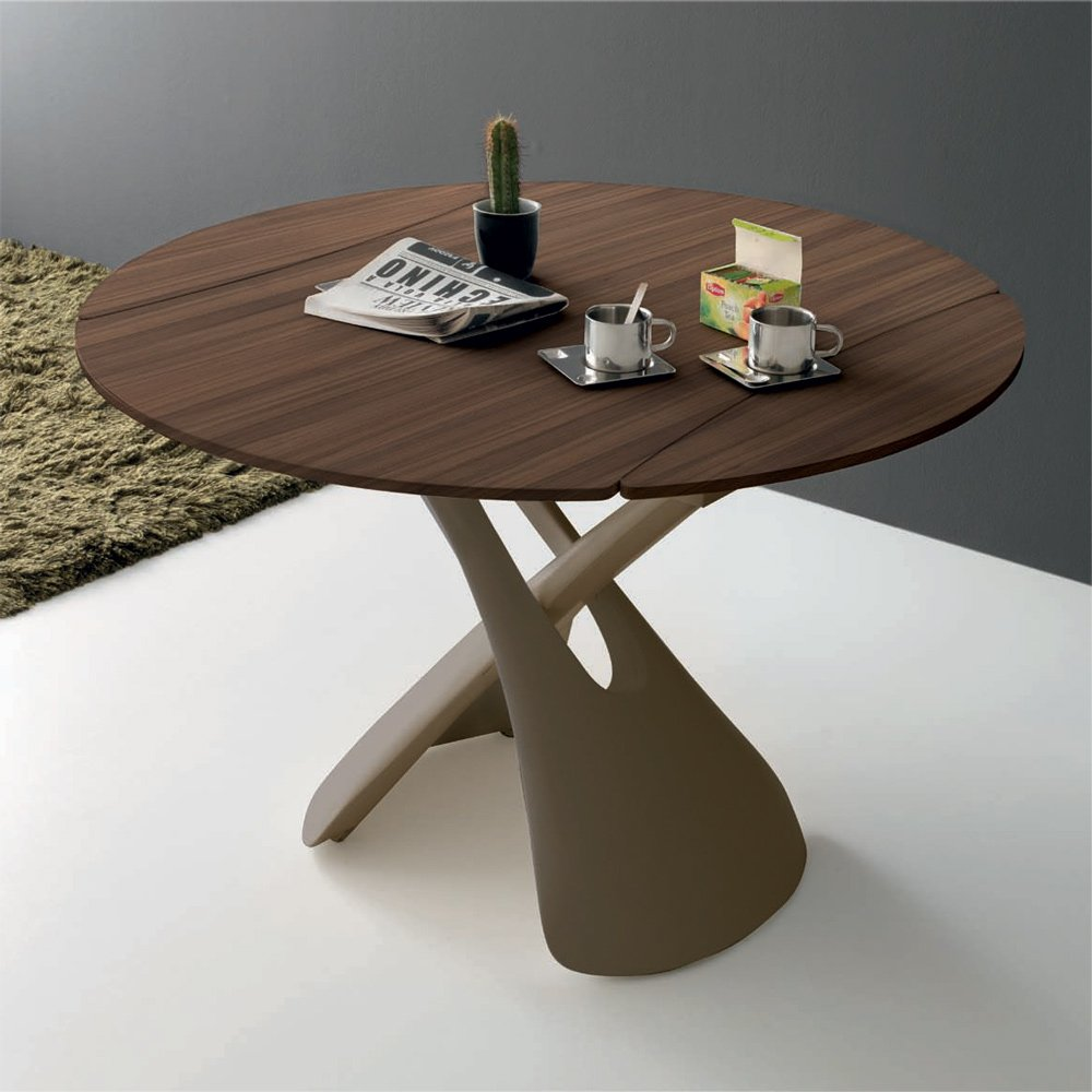 Table basse ronde reglable - Table de salon reglable en hauteur ...
