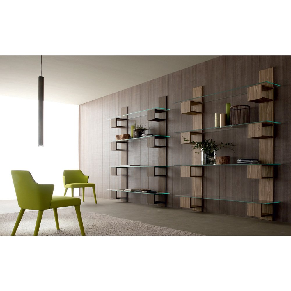 biblioth que murale infini meubles et atmosph re. Black Bedroom Furniture Sets. Home Design Ideas