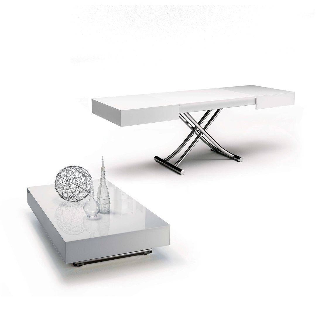 Table basse relevable paris meubles et atmosph re - Table basse relevable avec rallonge ...