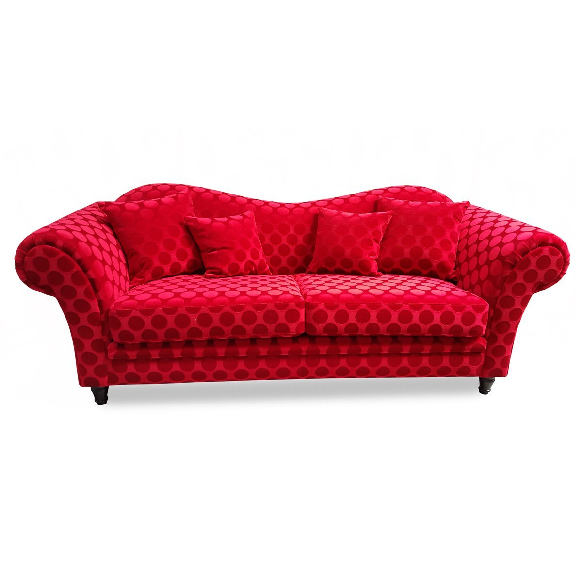 Canap convertible rouge design meubles et atmosph re - Canape convertible rouge ikea ...