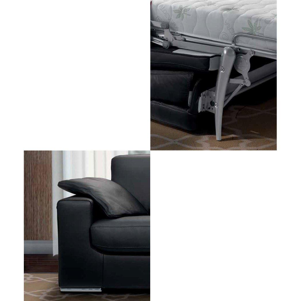 canap convertible noir meubles et atmosph re. Black Bedroom Furniture Sets. Home Design Ideas