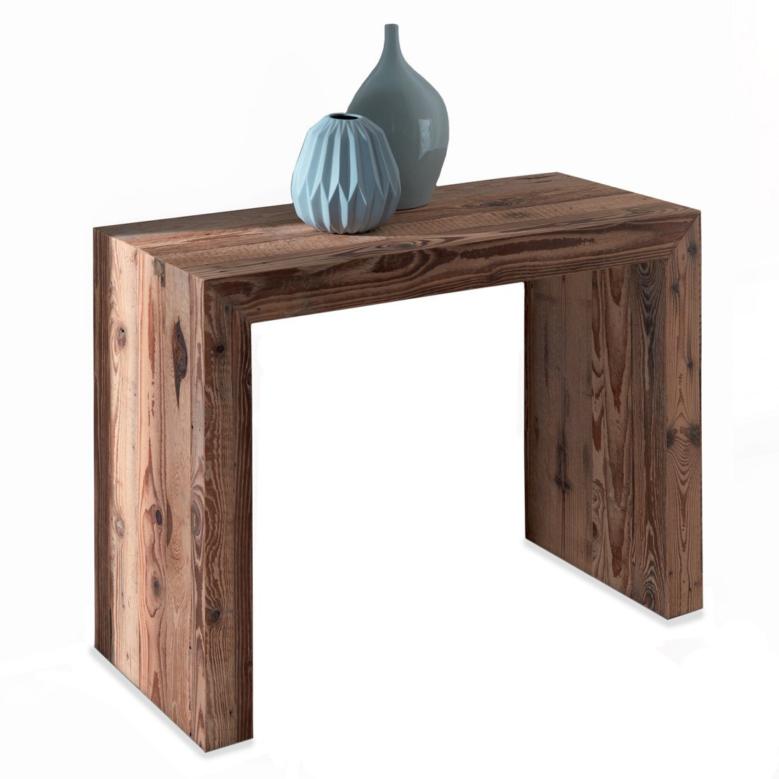 Table console bois meubles et atmosph re for Console en bois flotte