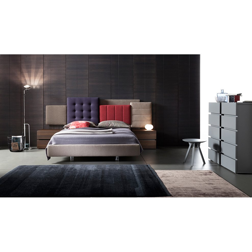 lit coffre patchwork 1 meubles et atmosph re. Black Bedroom Furniture Sets. Home Design Ideas