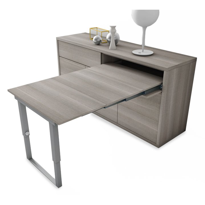 Buffet table extensible design meubles et atmosph re for Table sejour extensible design