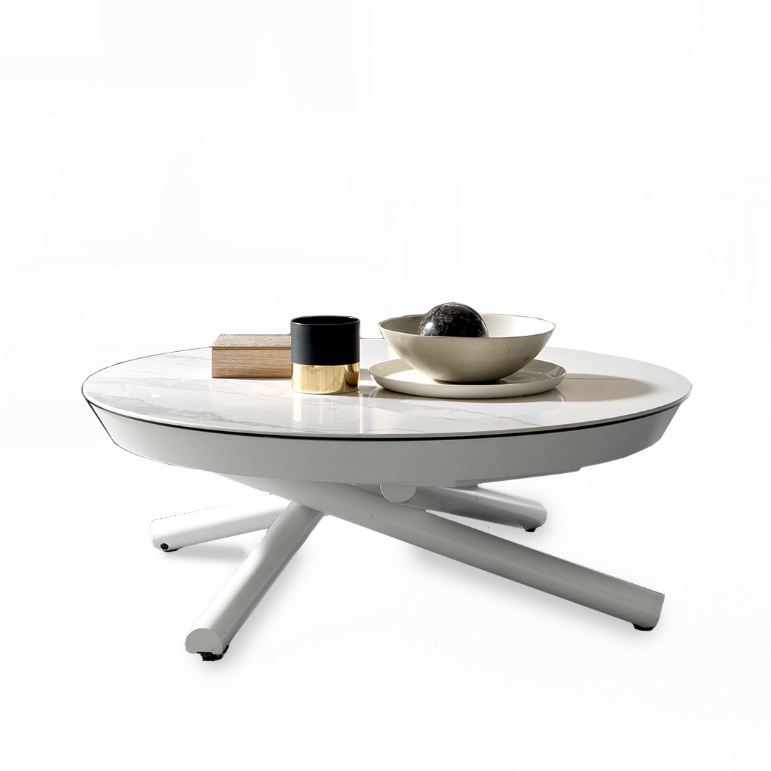 Table Basse Transformable En Table Repas