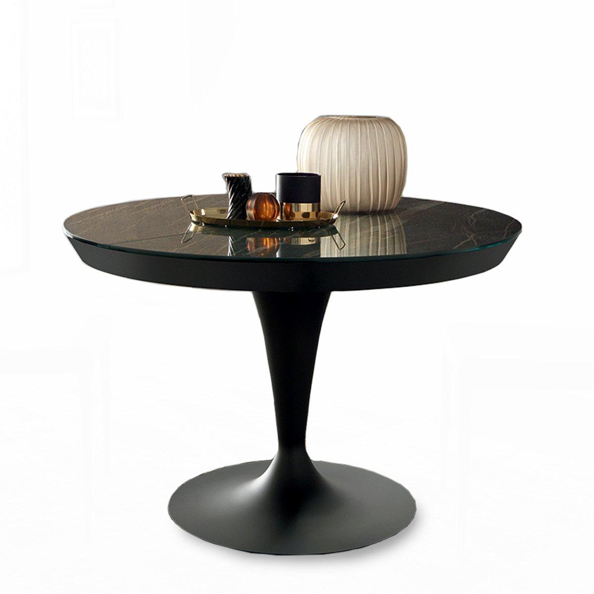 Table Ronde Extensible Calix Meubles Et Atmosphere
